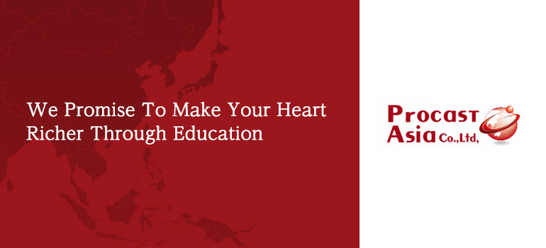We Promise To Make Your Heart Richer Through Education